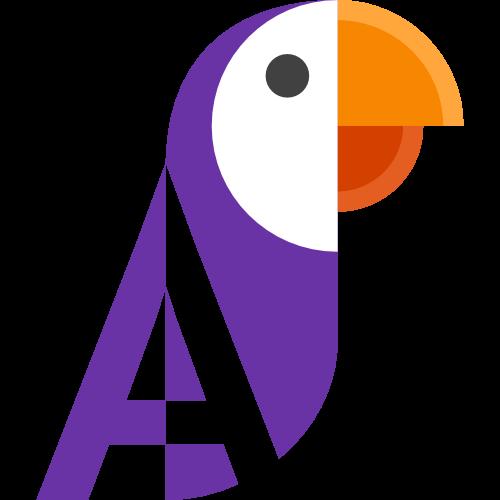 Translating Parrot app logo