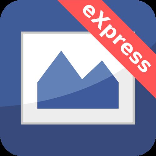 Feed Image Editor eXpress app logo